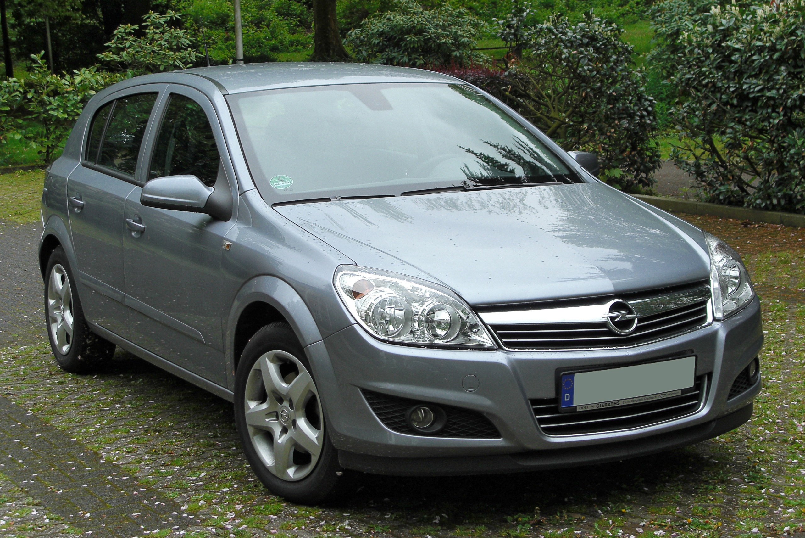 file opel astra h 1 6 facelift front wikimedia commons. Black Bedroom Furniture Sets. Home Design Ideas