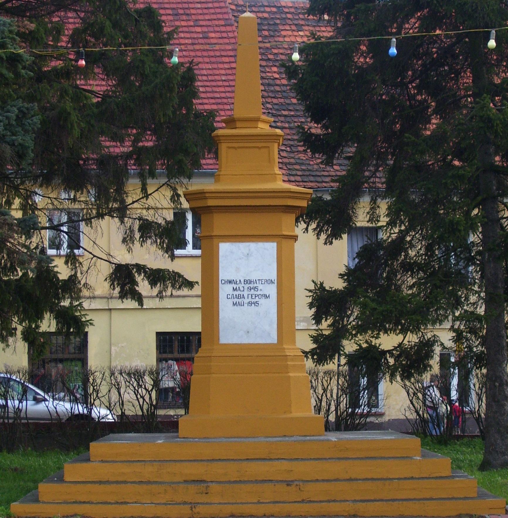 Pomnik Armii Czerwonej w Przemkowie