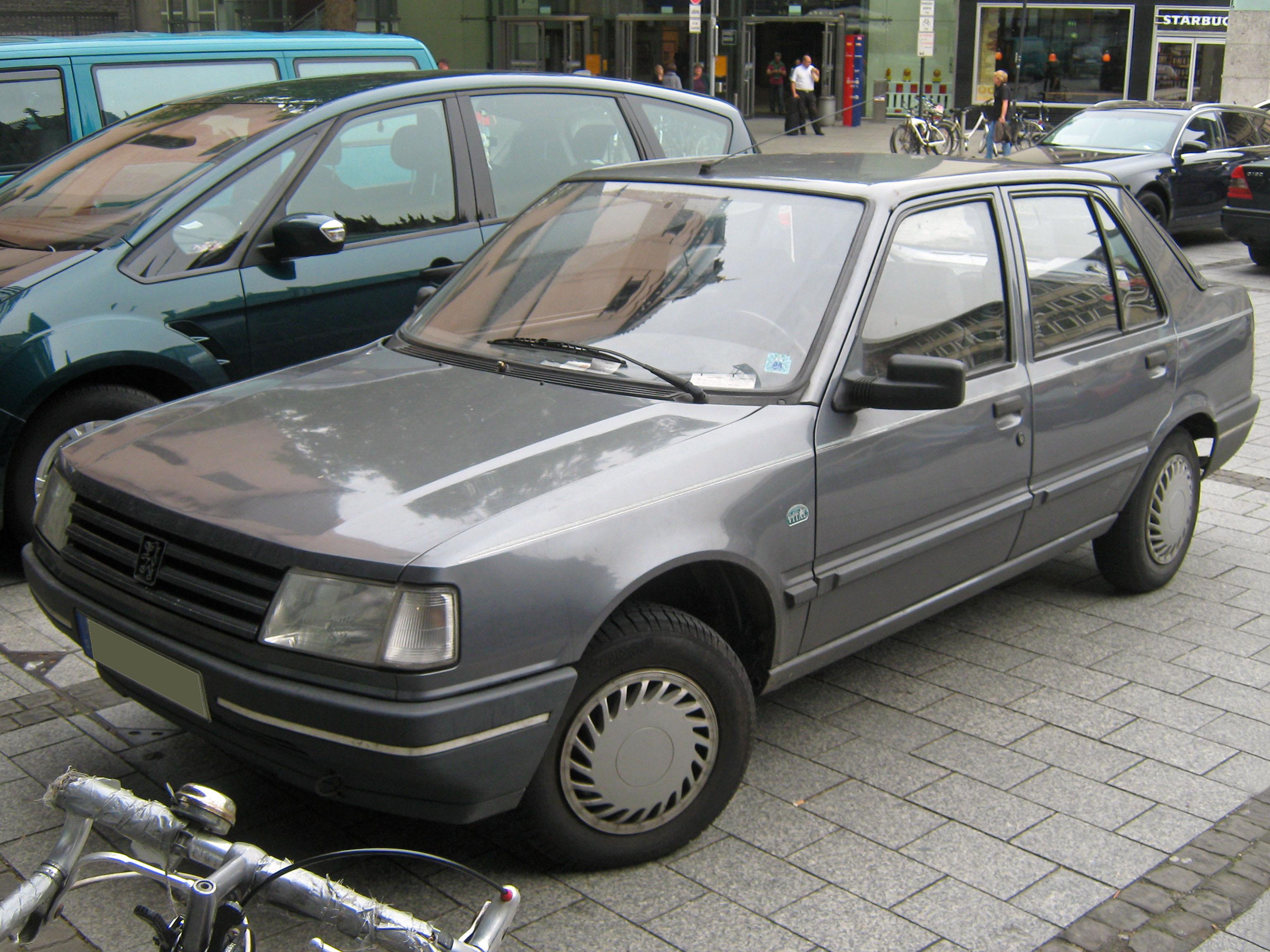 File Peugeot 309 Vital Jpg Wikimedia Commons