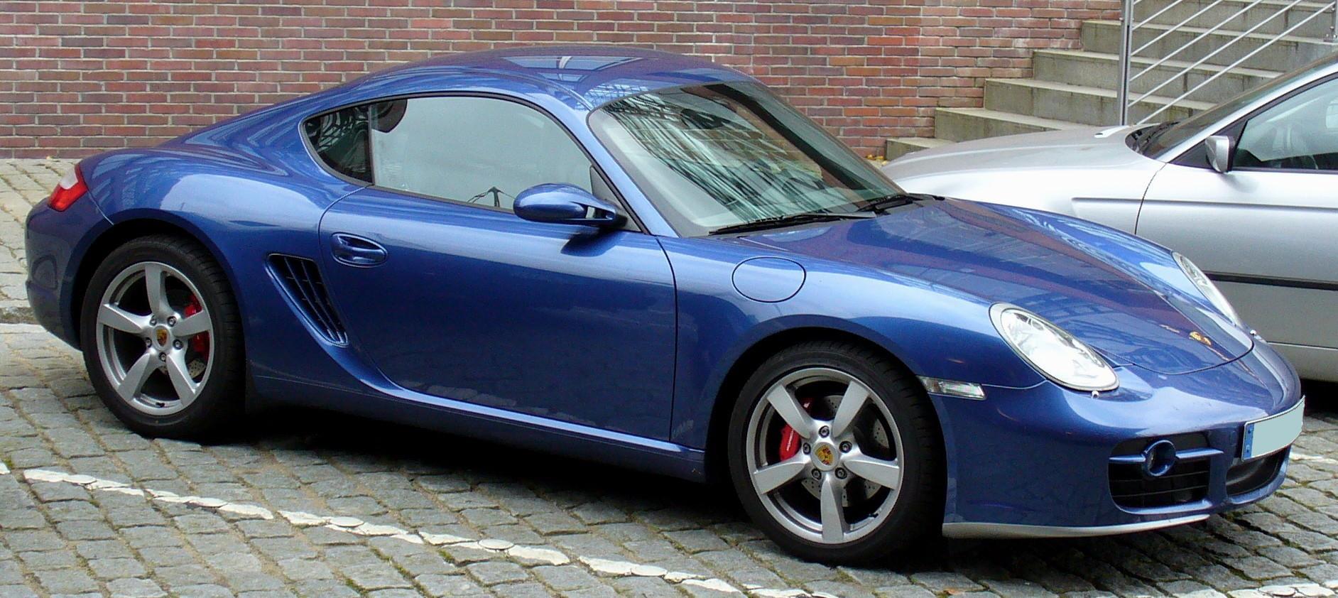 Porsche Graphite Blue Metallic Paint