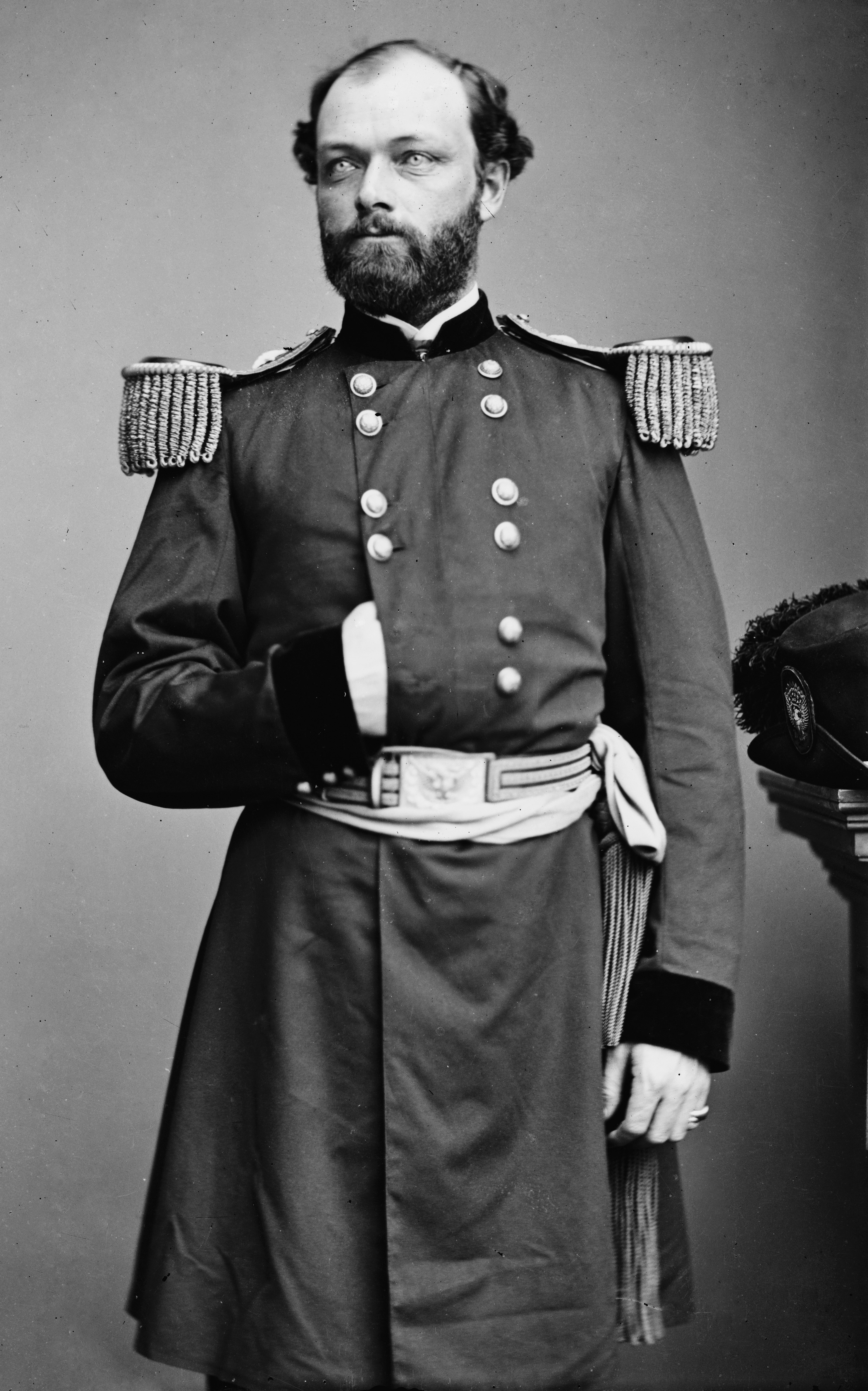 Civil War&ndash&#x3B;era portrait of Gillmore