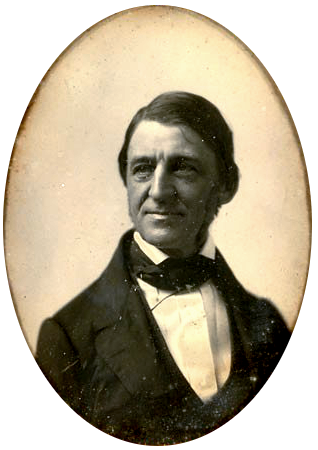 Quarter-plate daguerreotype of Ralph Waldo Emerson