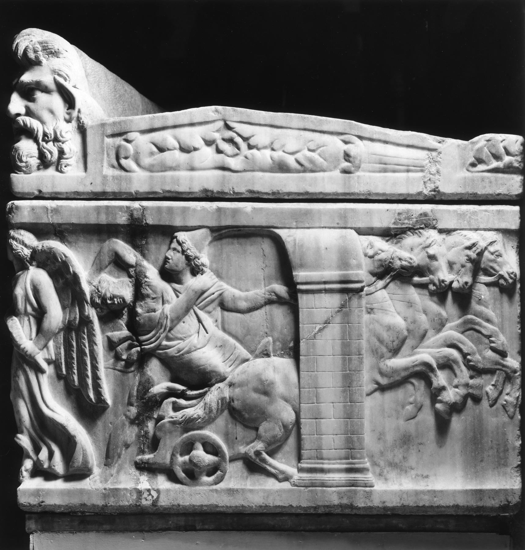 file roman sarcophagus depicting castor and pollux seizing the daughters of leucippus. Black Bedroom Furniture Sets. Home Design Ideas