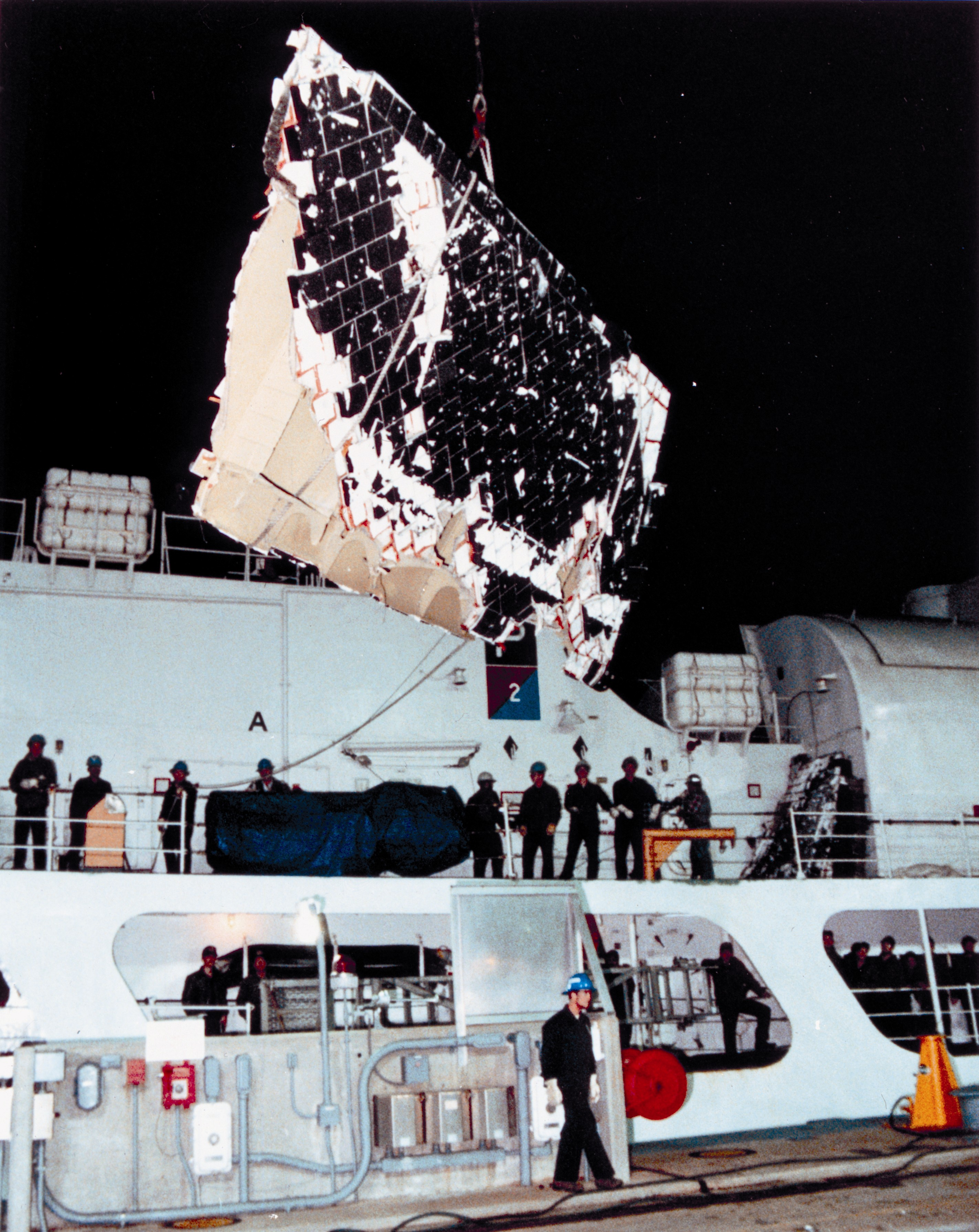space shuttle challenger wreckage - photo #10