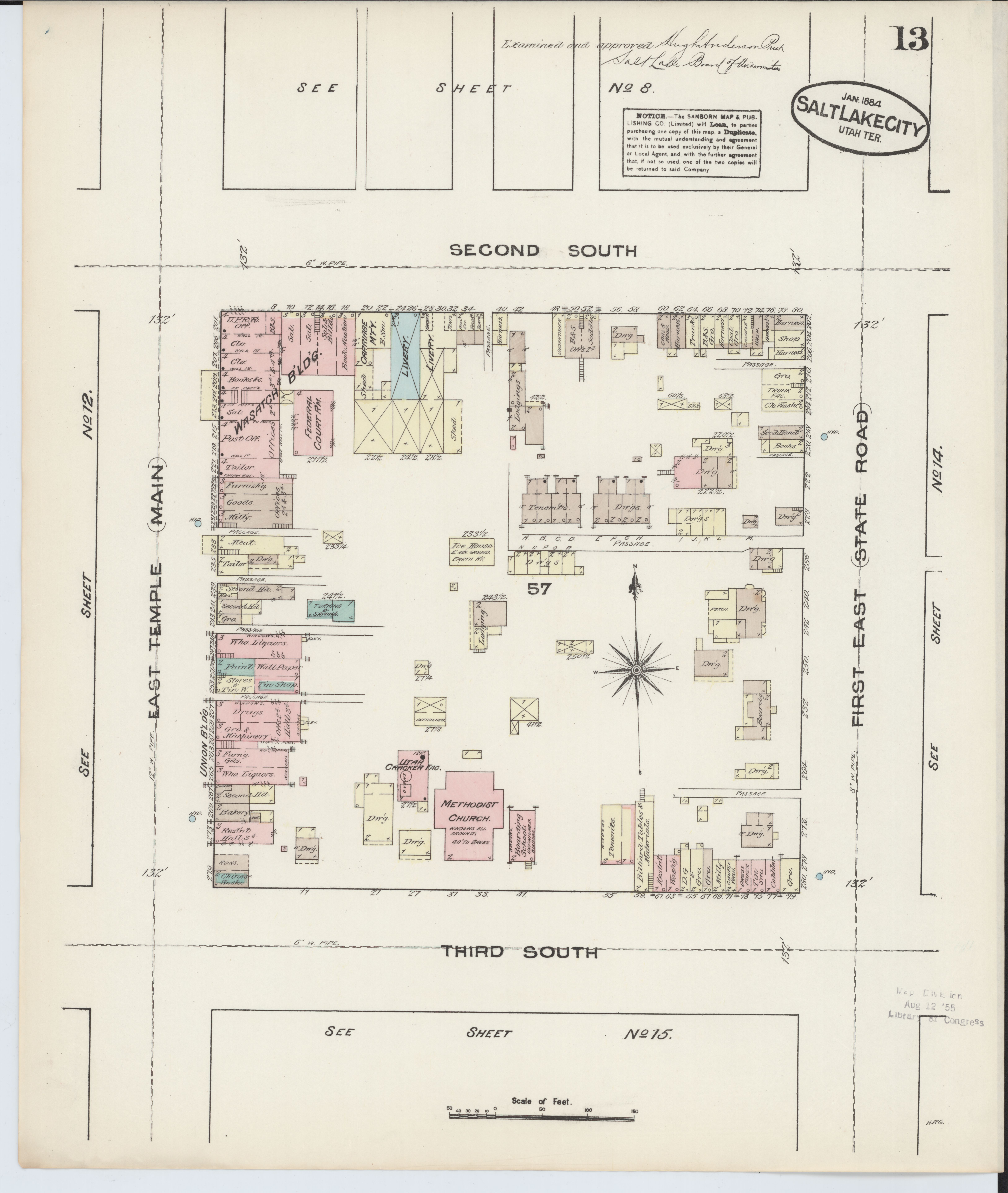 File:Sanborn Fire Insurance Map from Salt Lake City, Salt ... on woodland road map, lake county colorado map, lee county road map, salt lake aerial, albion basin road map, st. mary's county road map, pleasant grove road map, macon county road map, santa rosa county road map, logan road map, south ogden road map, salt lake florida, prince george's county road map, brigham city road map, ballpark road map, springville road map, oakland road map, college of lake county il map, wichita county road map, salt lake nm,