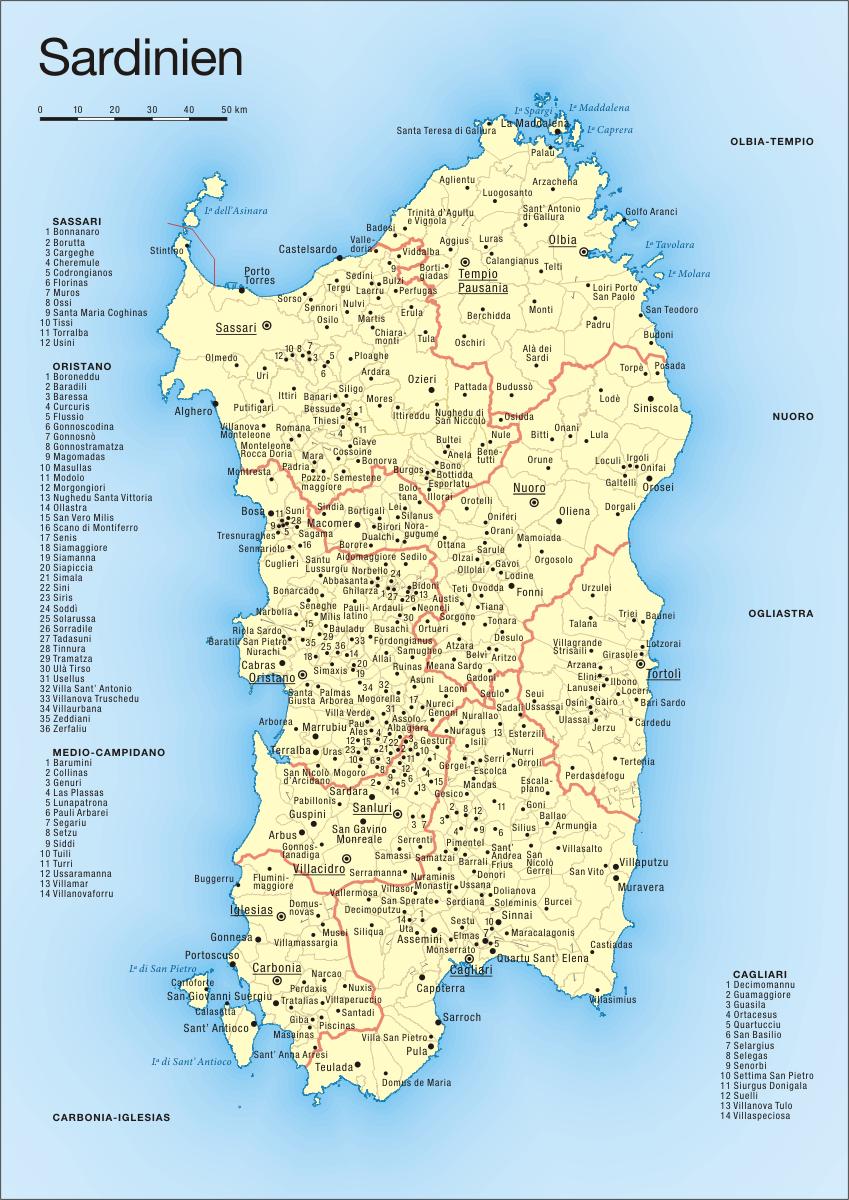 Sardinien - Wikiwand