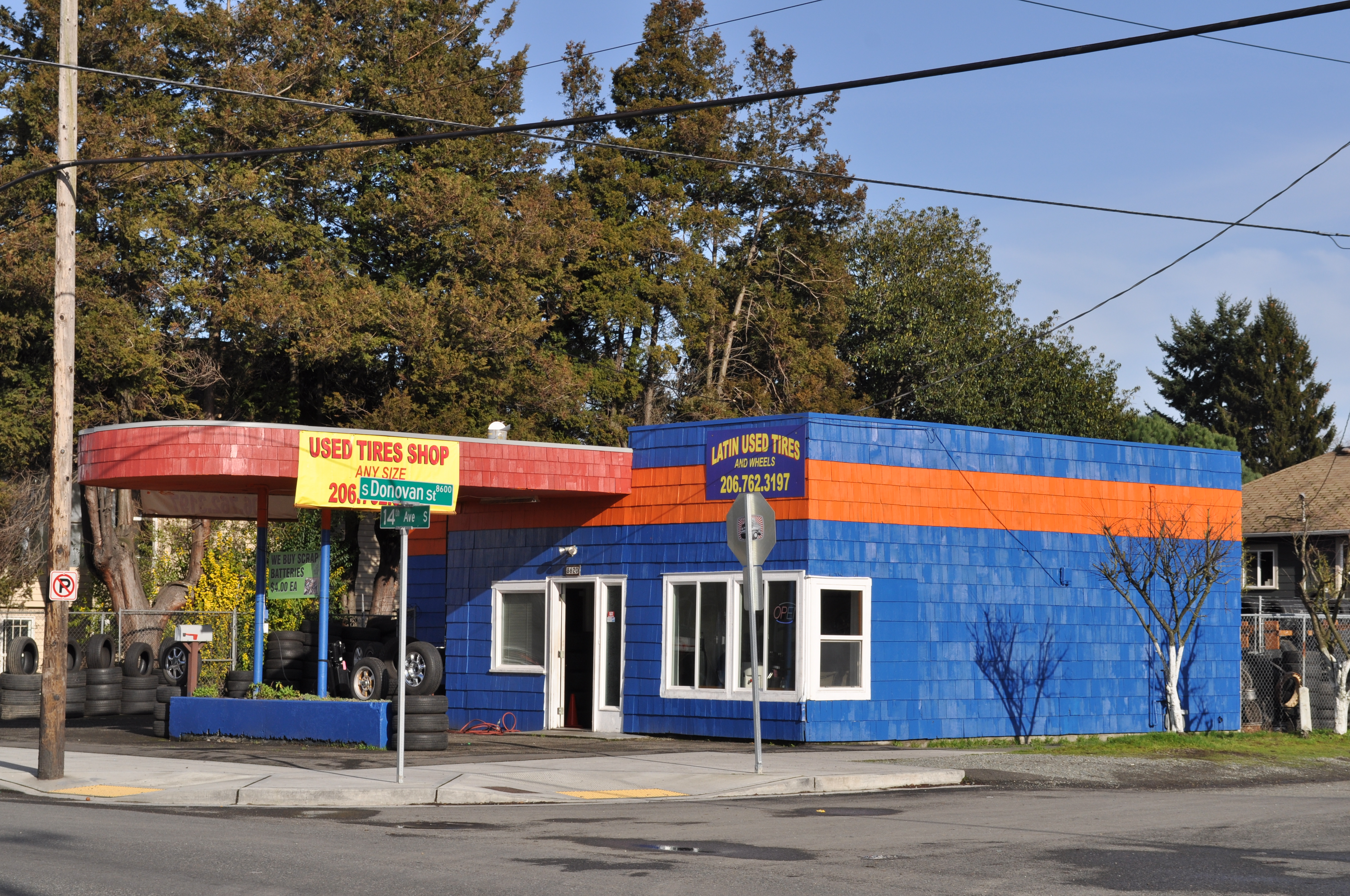 File Seattle South Park Used Tire Shop Jpg Wikimedia Commons