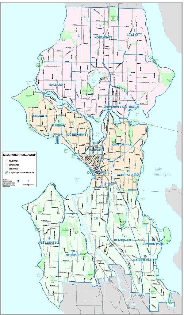 FileSeattle City Map From City Clerk39s Atlasjpg