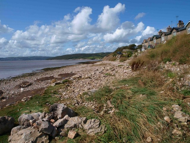 Silverdale beach - geograph.org.uk - 1452277