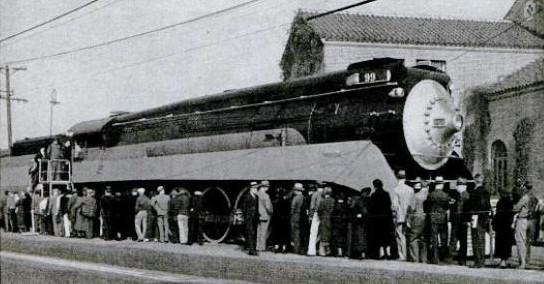Gs Stock Chart: Southern Pacific Daylight GS-2 locomotive 1937.jpg ,Chart