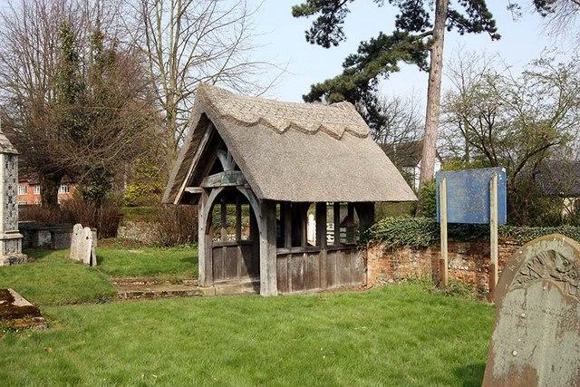 File:St Peter, Bramerton, Norfolk - Lych gate - geograph.org.uk - 1242690.jpg