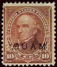 Postage stamps and postal history of Guam