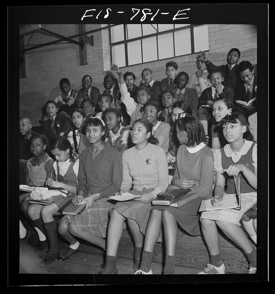 Student Council, Banneker Junior High, Washington, D.C, 1942