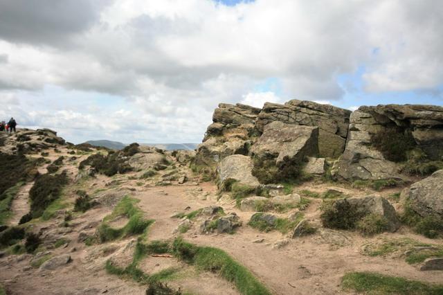 Summit Rocks on Win Hill - geograph.org.uk - 1293369