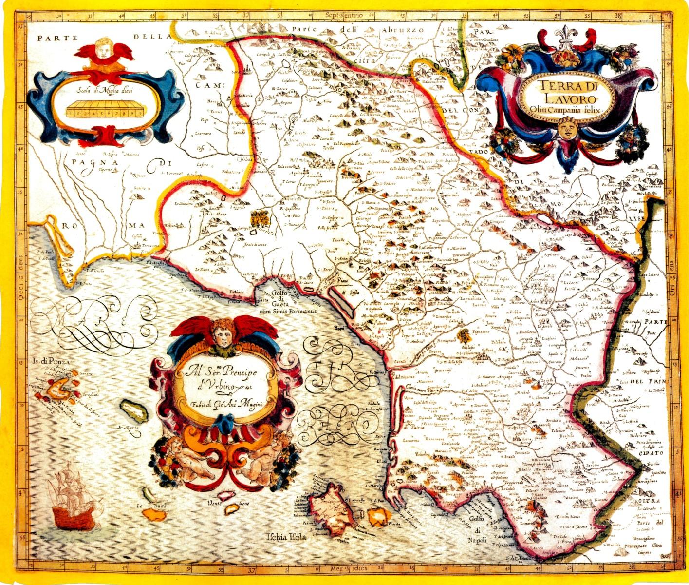 Cartina Campania Pdf.Terra Di Lavoro Wikipedia