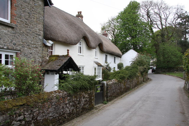 Thatched Cottage in Belstone - geograph.org.uk - 1273582