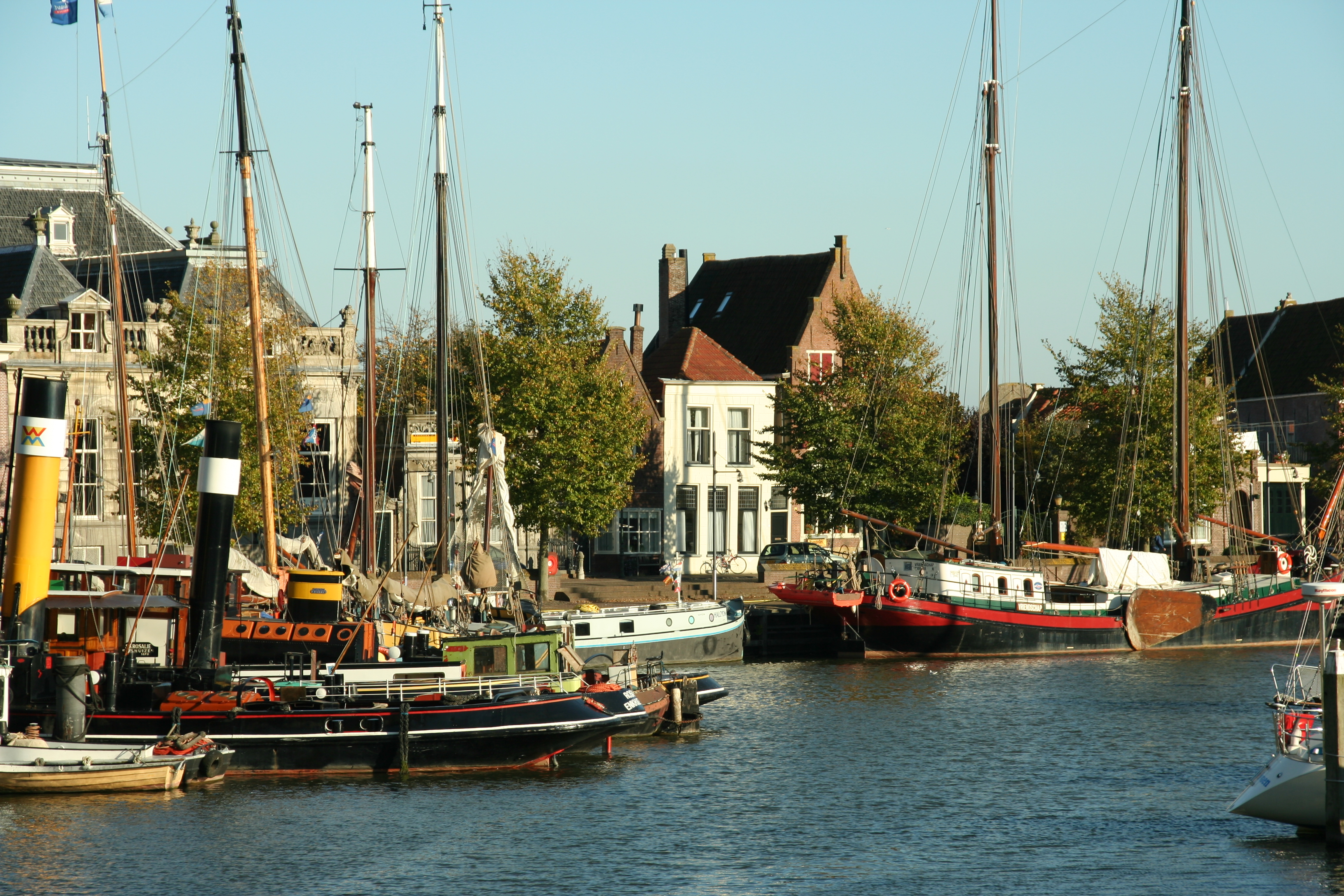 Enkhaizen - Hafen, Quelle: WikiCommons