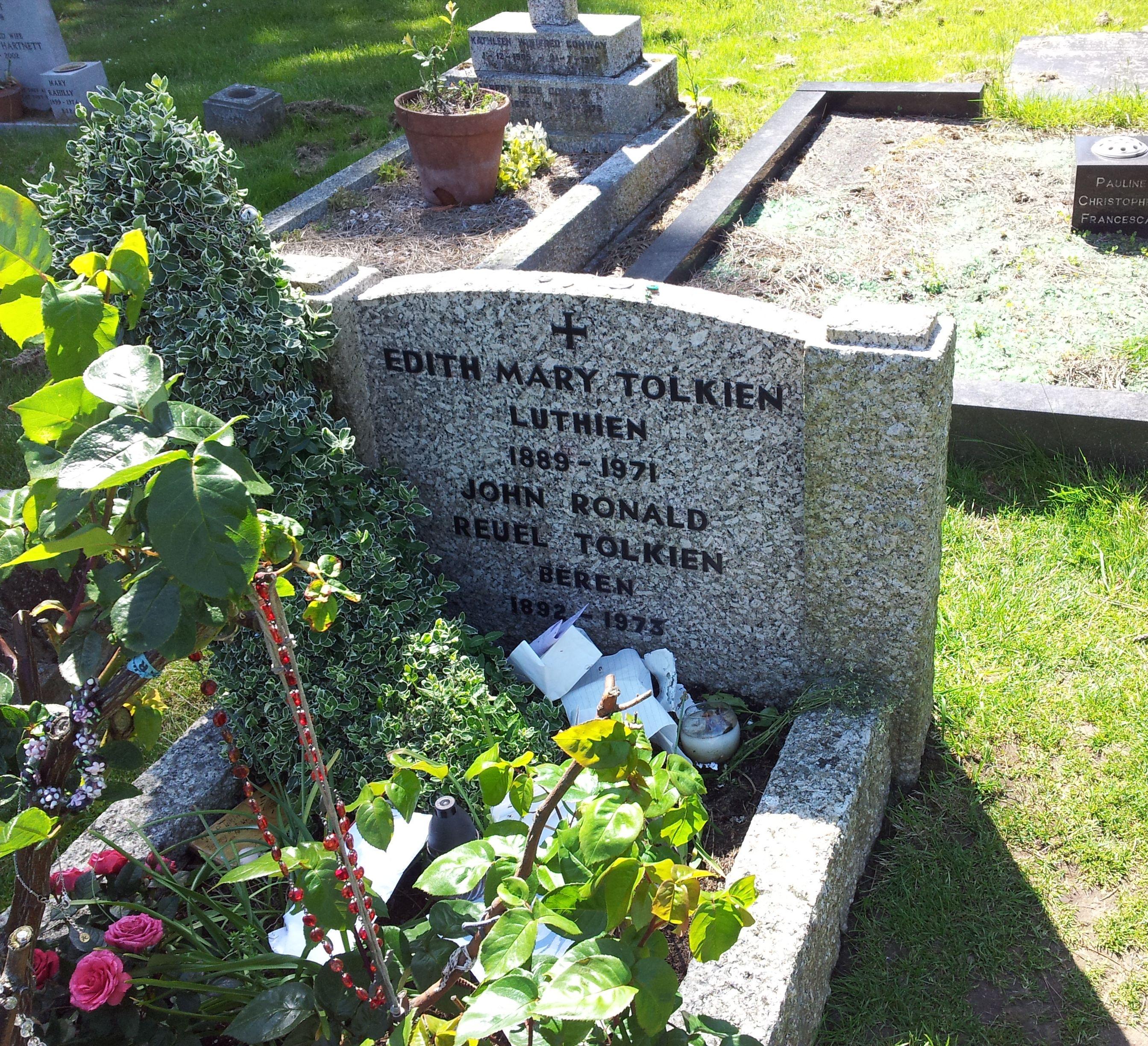La tumba de Tolkien