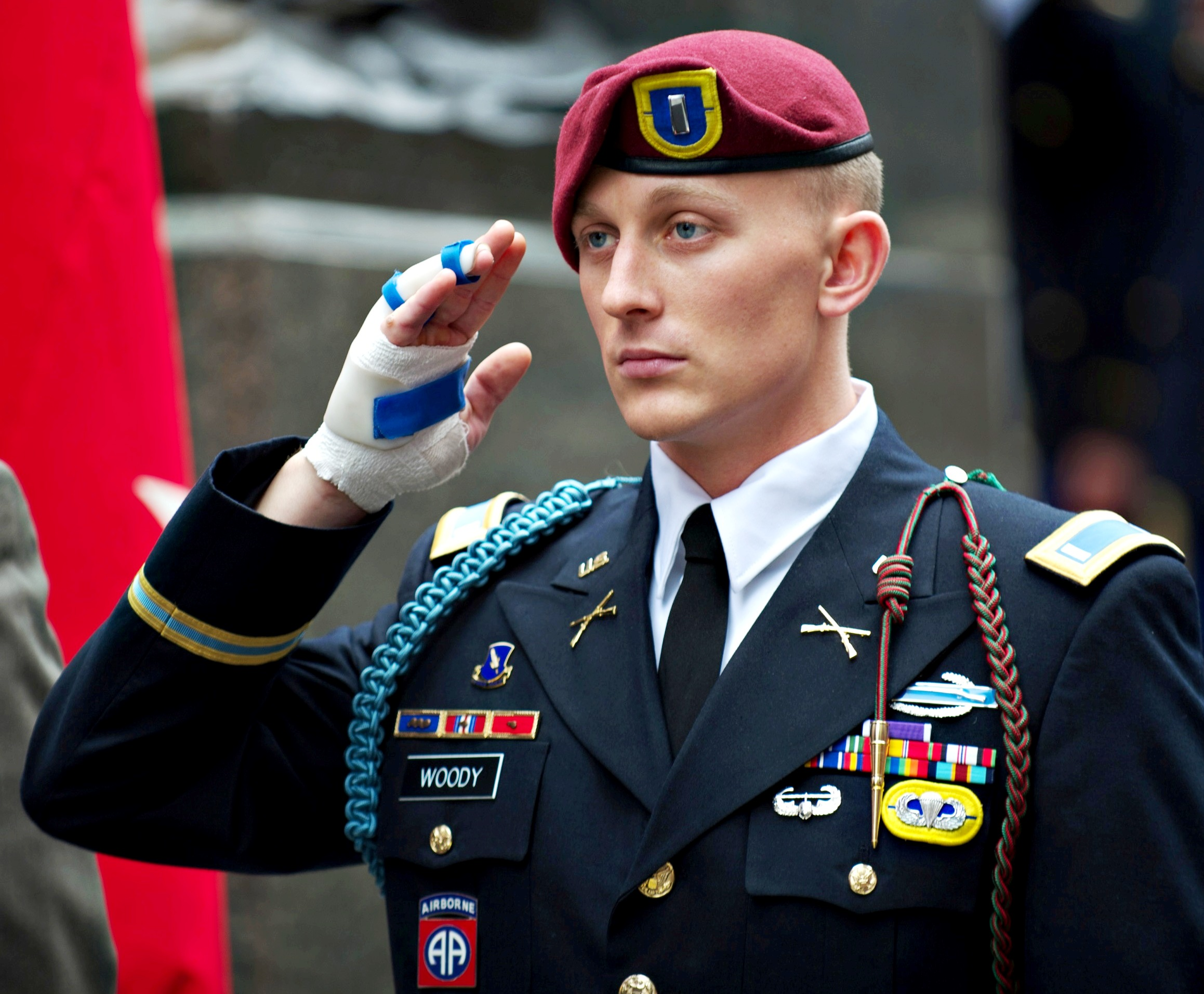 File:U.S. Army 1st Lt. Alexander Woody, With The 82nd