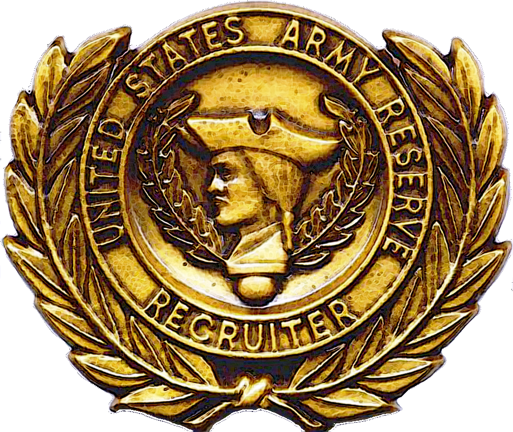 file us army reserve recruiter badge png wikimedia commons