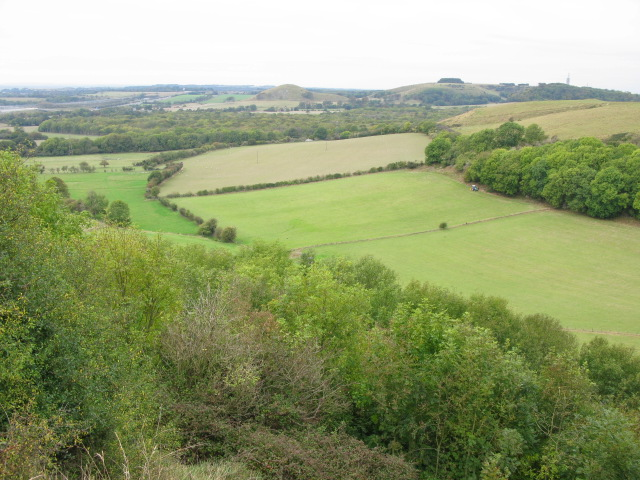 View from road above Peene - geograph.org.uk - 1534734