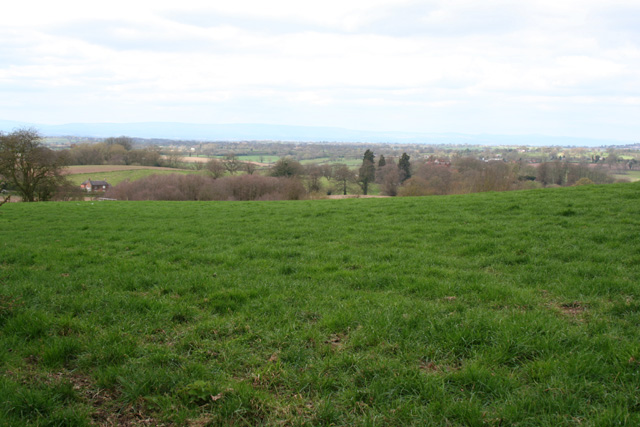 View north from the Bishop Bennet Way, near Wirswall - geograph.org.uk - 1229642