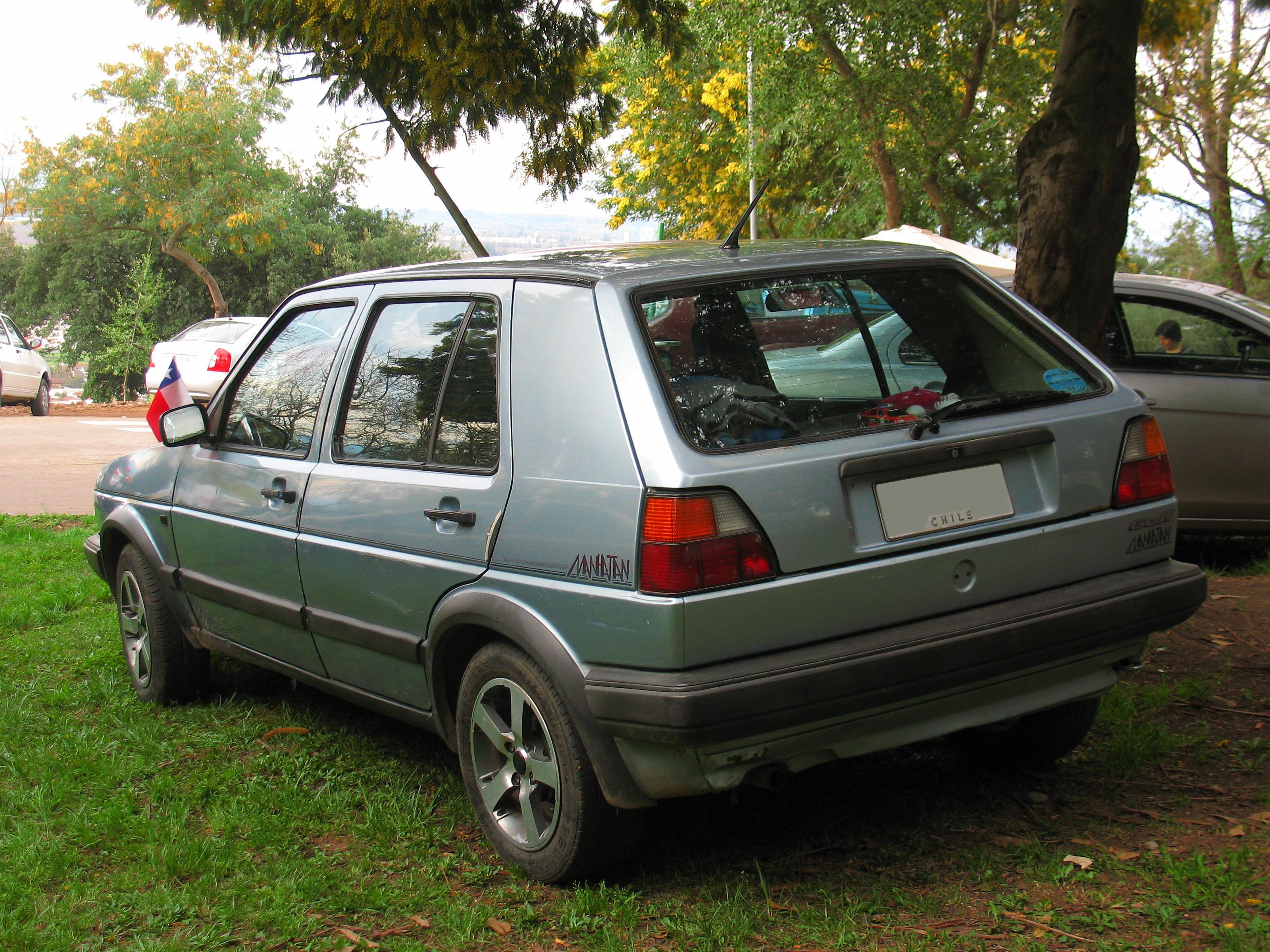 File Volkswagen Golf 1 6 Manhattan 1989 13962194119 Jpg