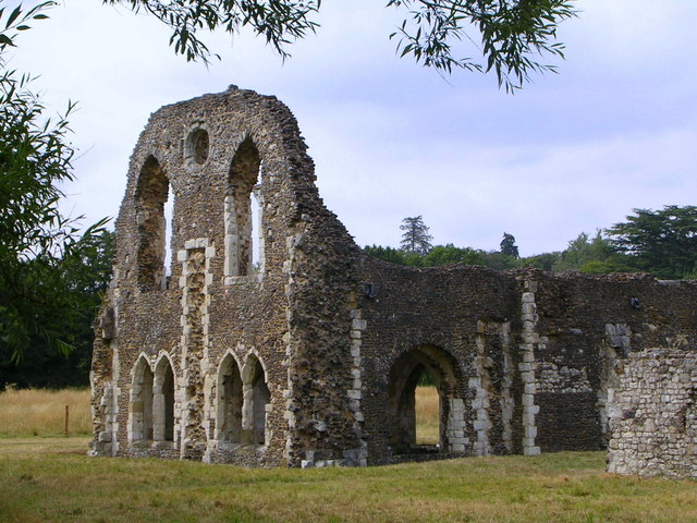 Waverley Abbey ruins - geograph.org.uk - 1167081