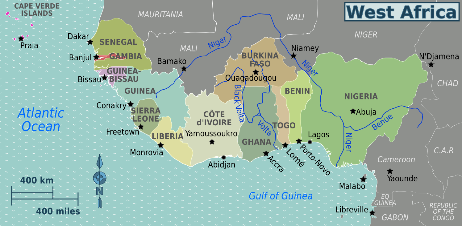 File:West Africa regions map. ...