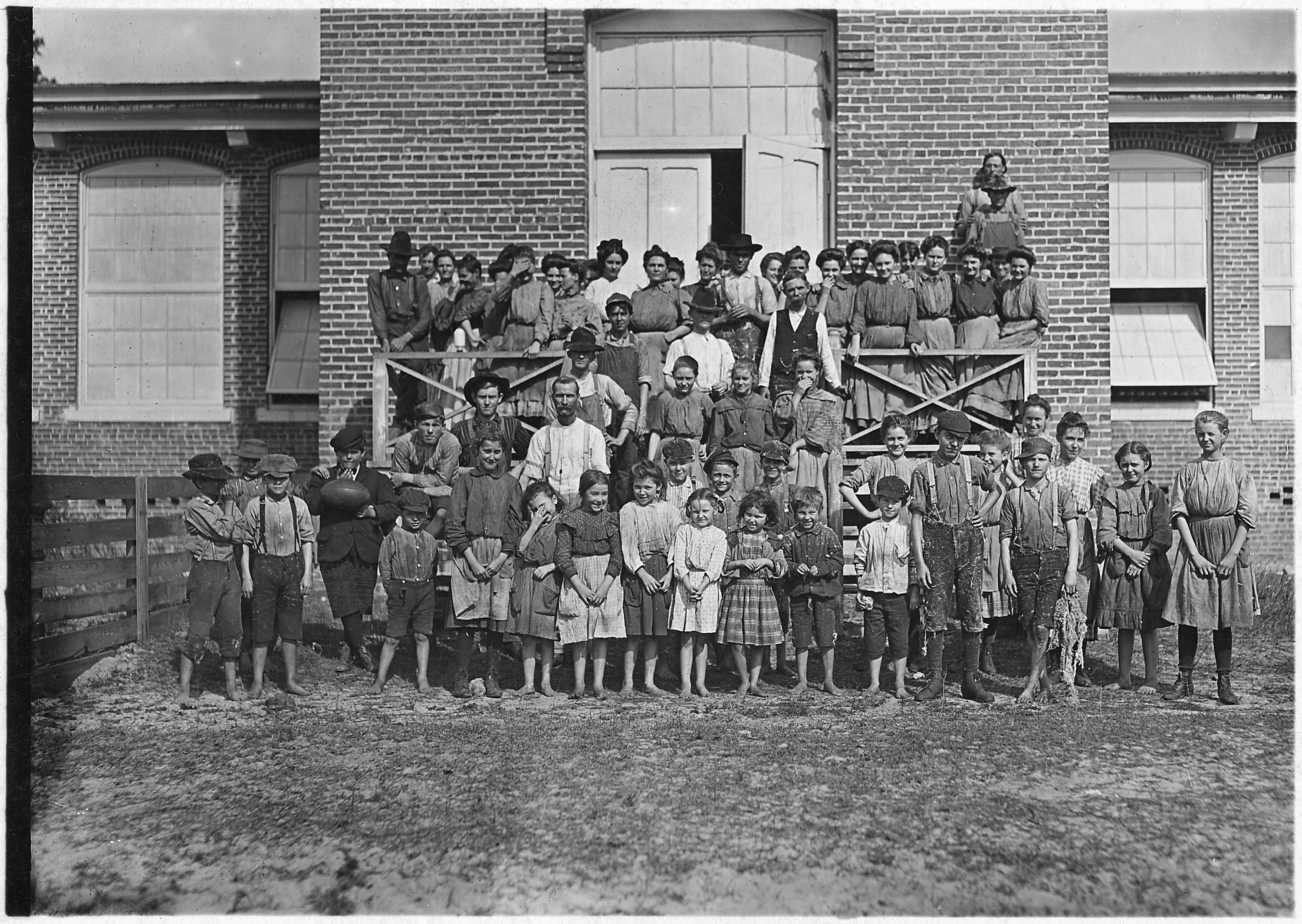 File Workers In The Tifton Cotton Mills All These Children Were Working Or Helping