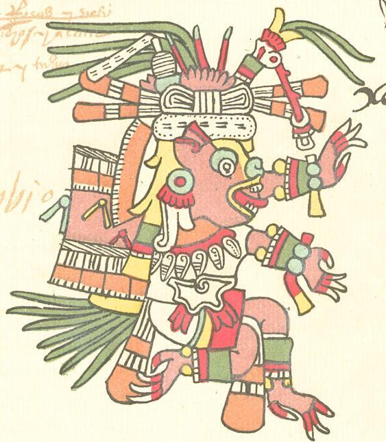 Xolotl from codex Telleriano-Remensis