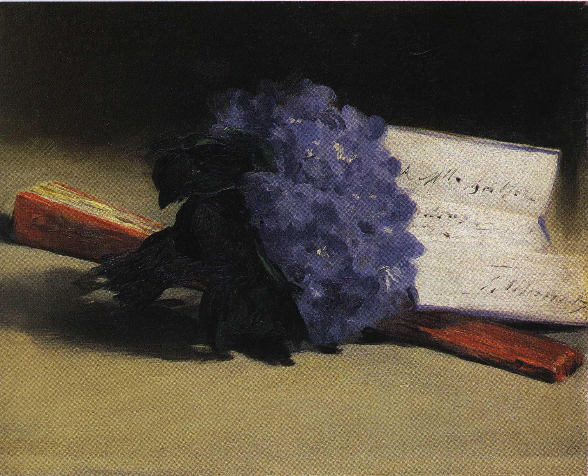 file douard manet bouquet de violettes et wikimedia commons. Black Bedroom Furniture Sets. Home Design Ideas