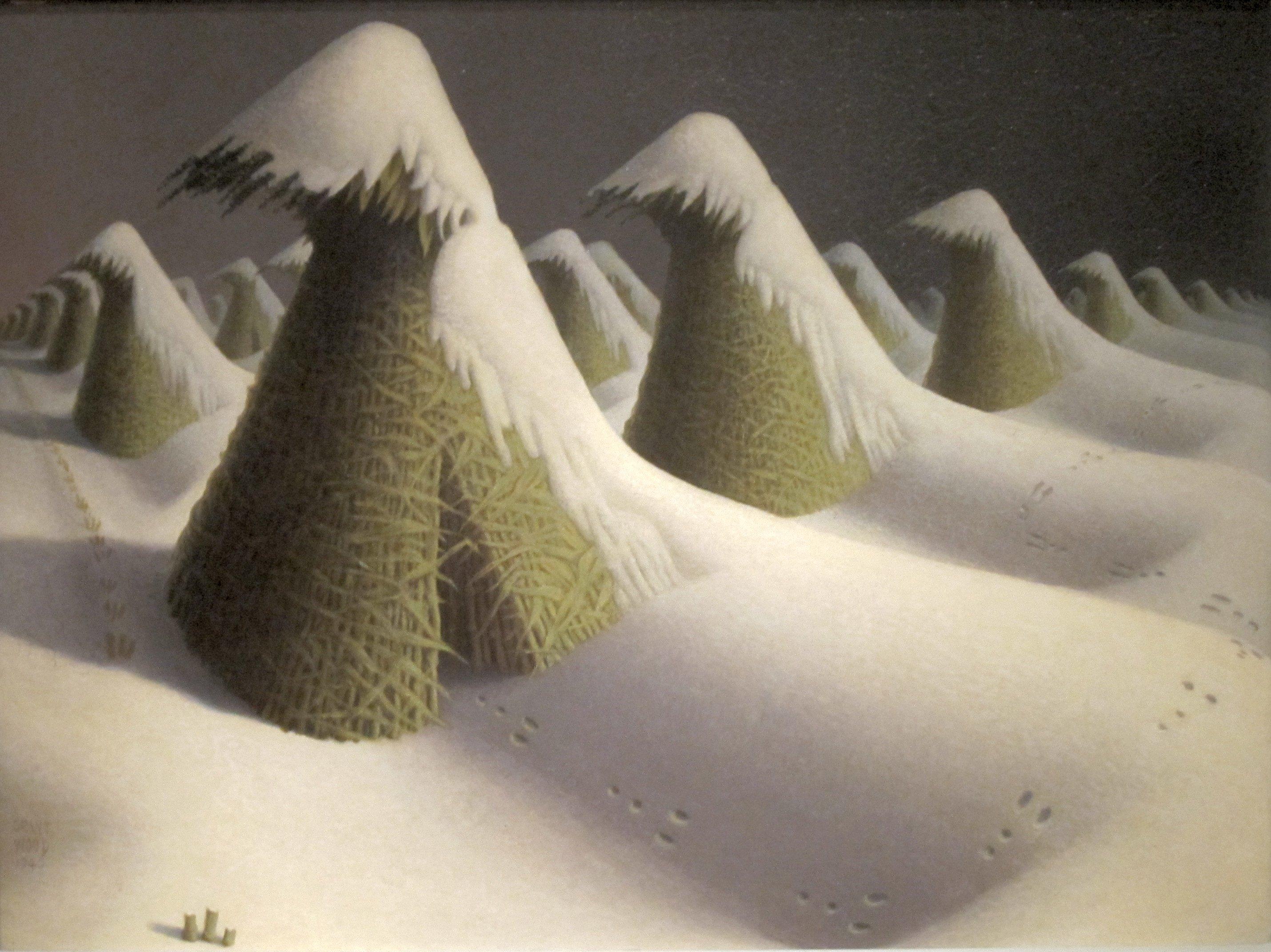 Grant Wood: An American artist