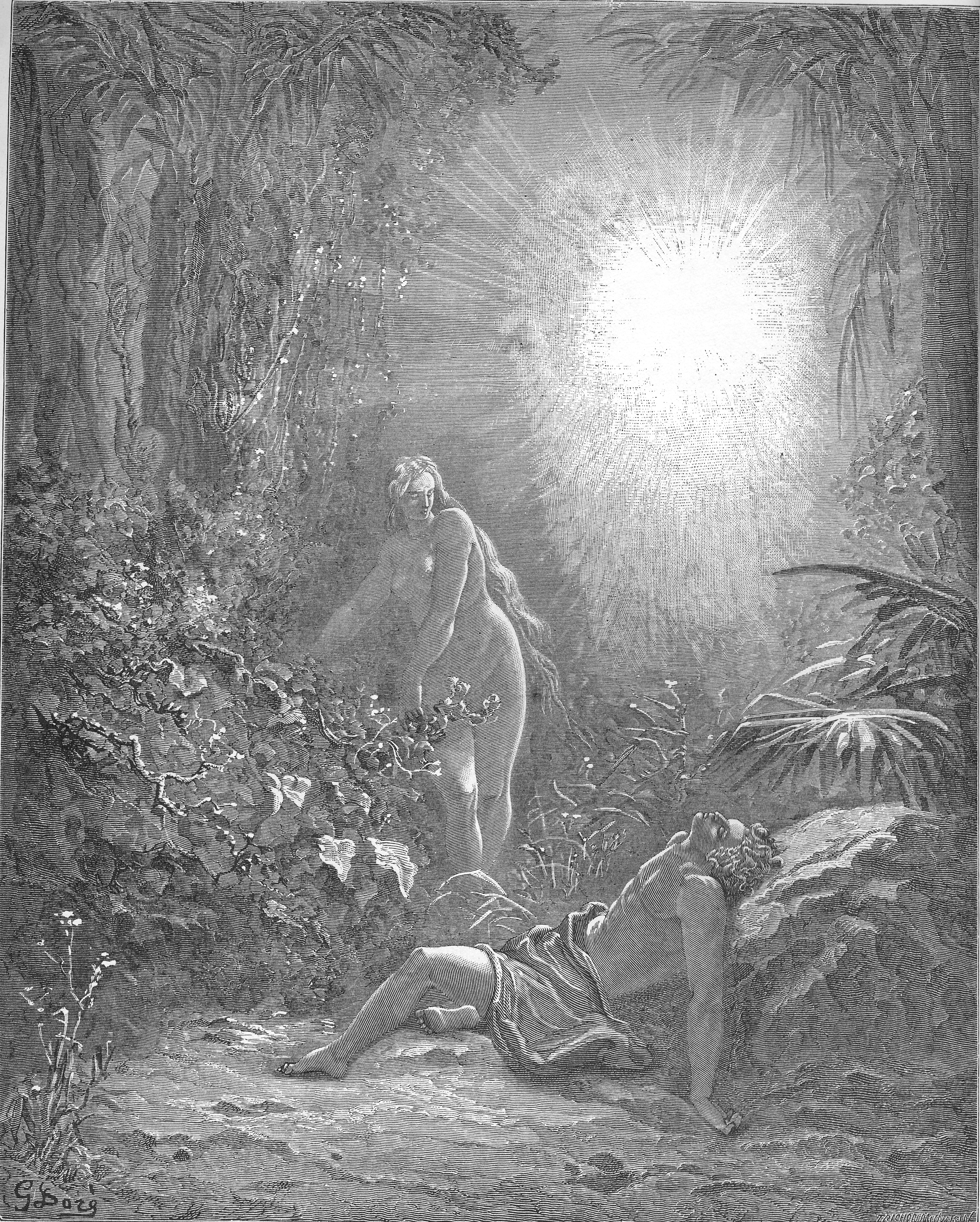 Image Result For Adam And Eve In The Garden Of Eden