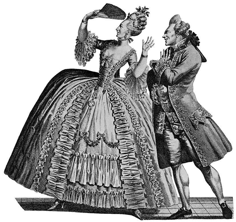 мода в эпоху барокко картинки все преграды