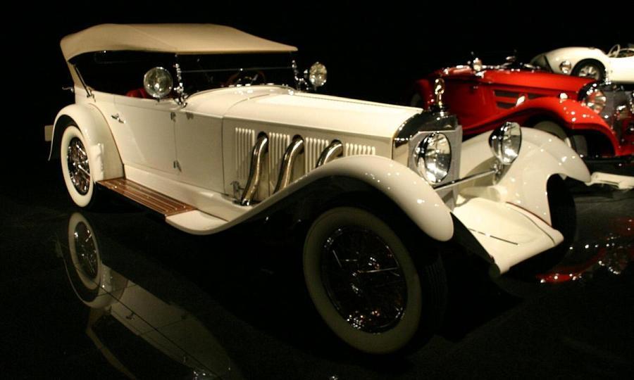 1929 mercedes benz model s antique car magazine for 1929 mercedes benz