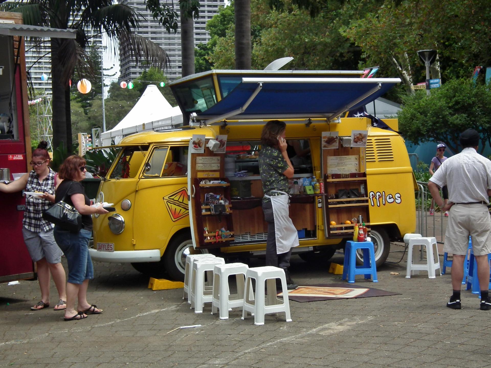 Food Truck Van For Sale