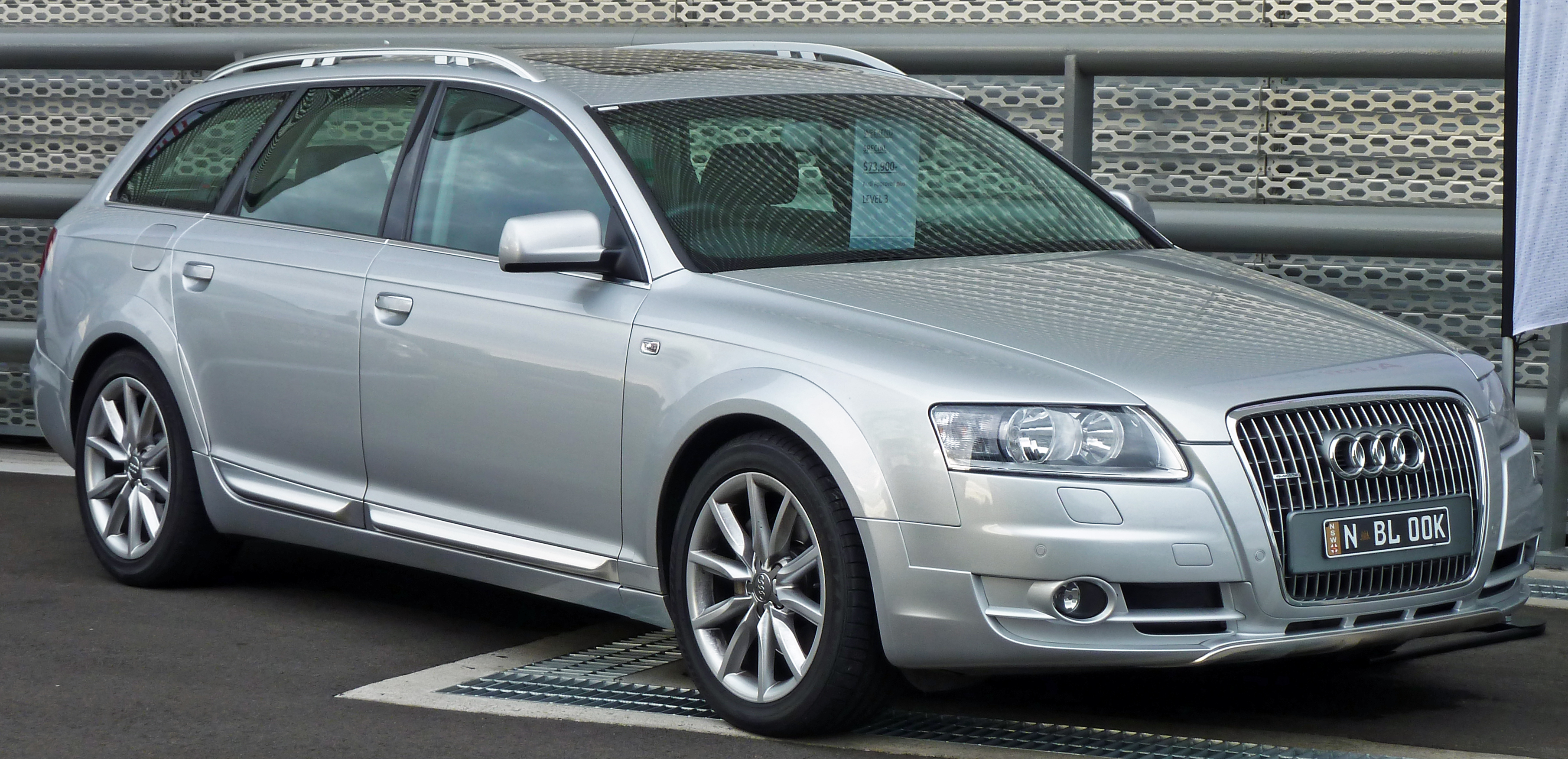 file 2007 audi a6 4f allroad quattro 3 0 tdi station wagon. Black Bedroom Furniture Sets. Home Design Ideas