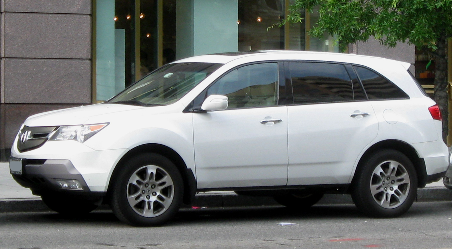 File 2nd Acura Mdx Jpg Wikimedia Commons
