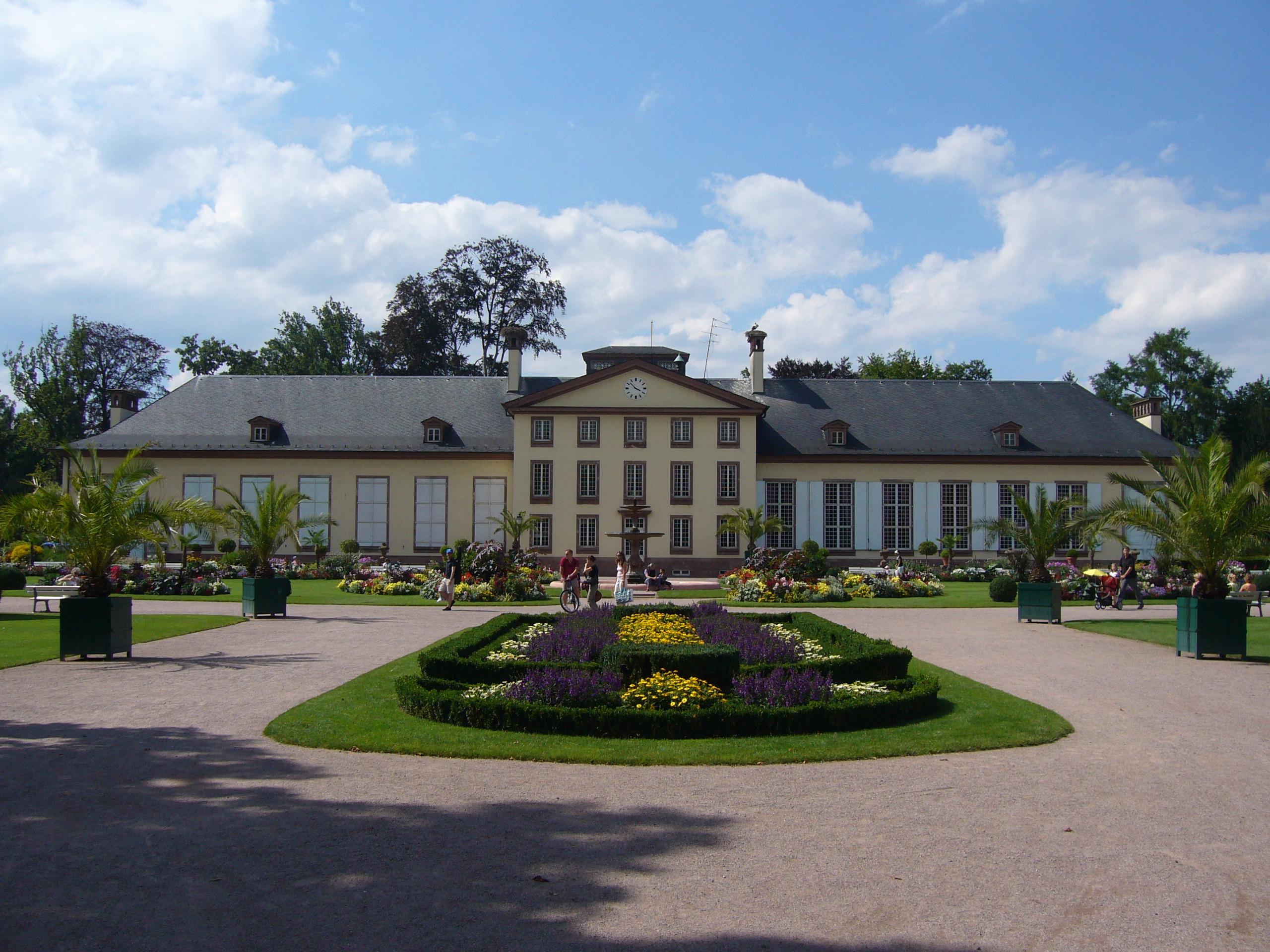 Restaurant Parc De L Orangerie Strasbourg