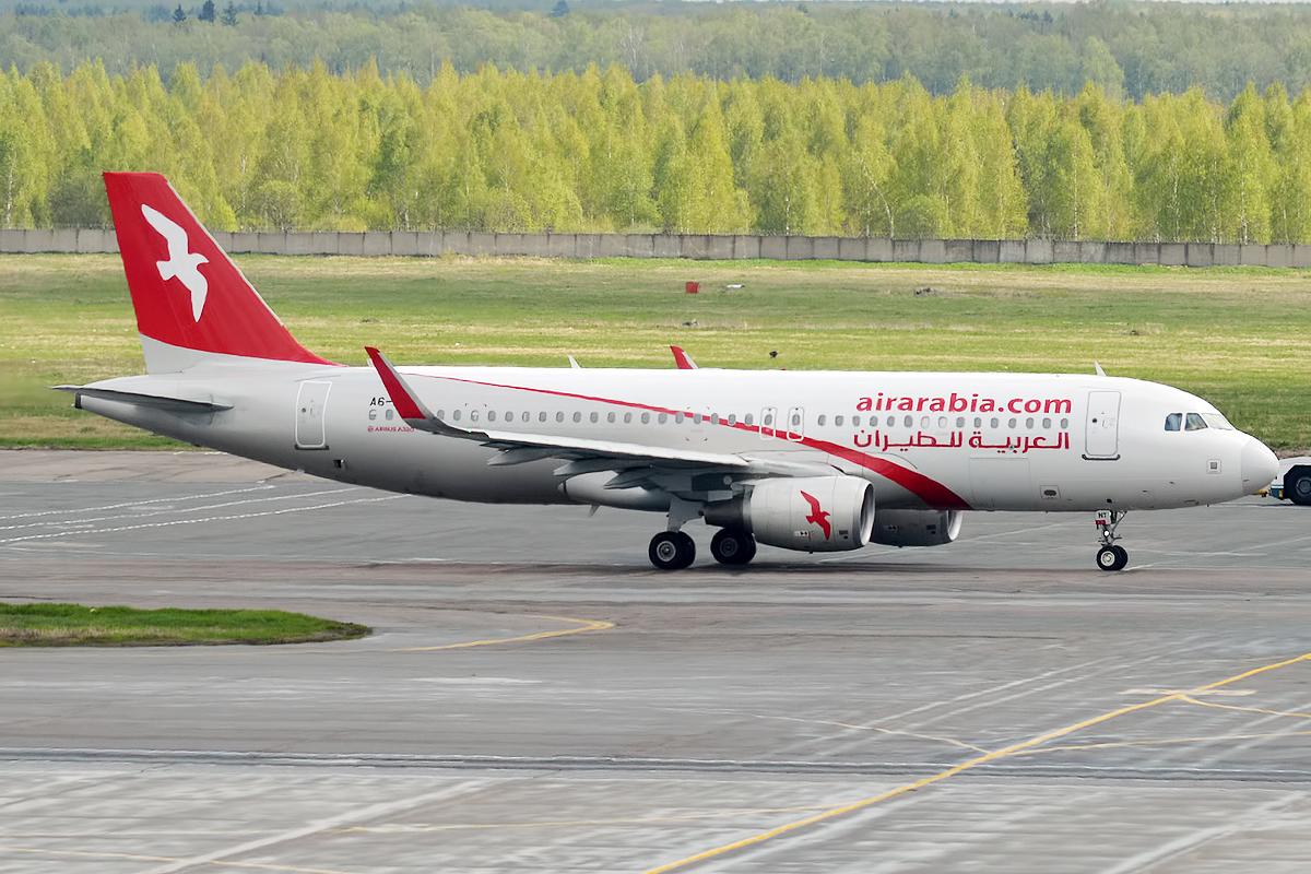Bildresultat för A6-ANV airbus a320 air arabia