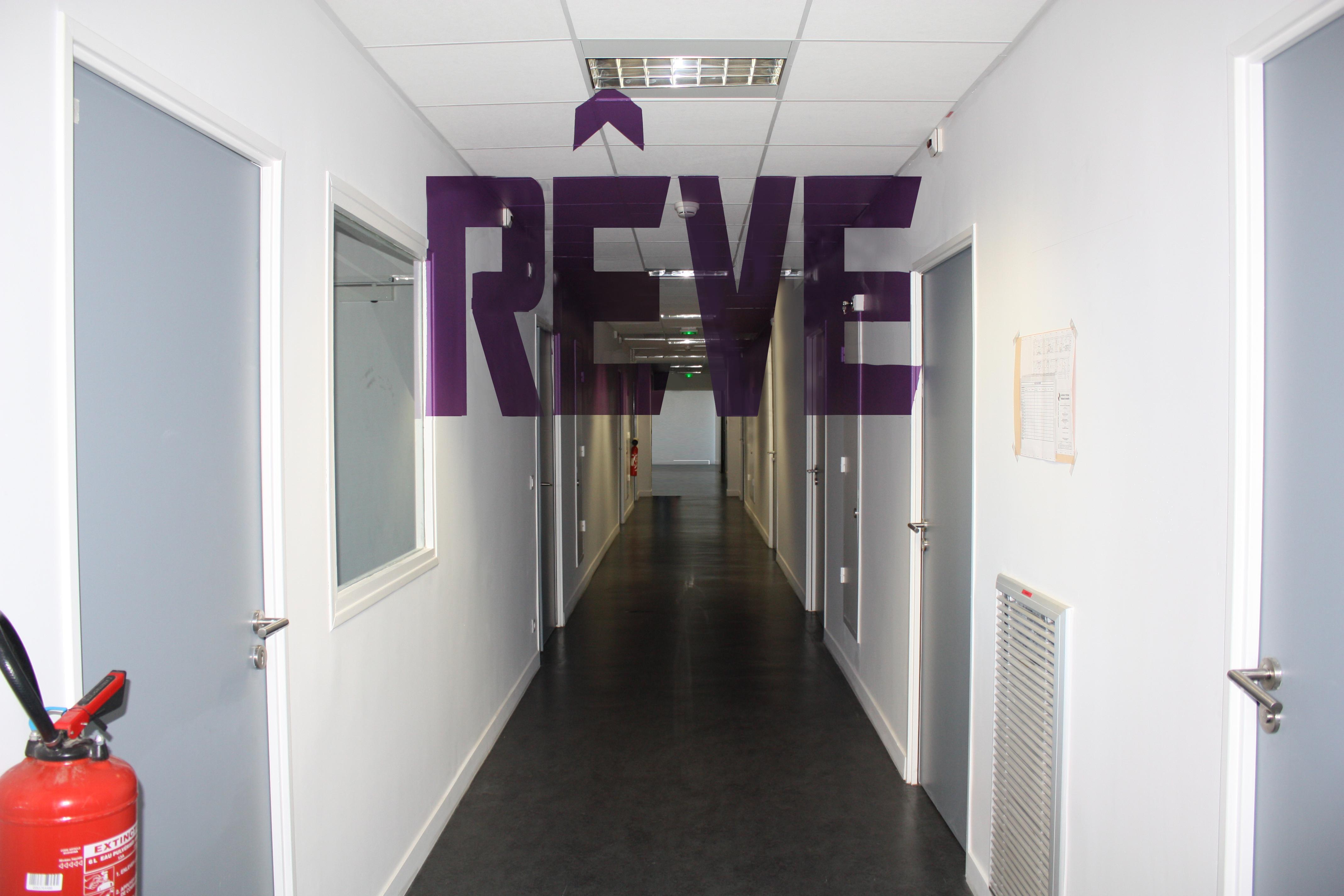 File Anamorphose peinte dans le couloir des chambres de l h´pital