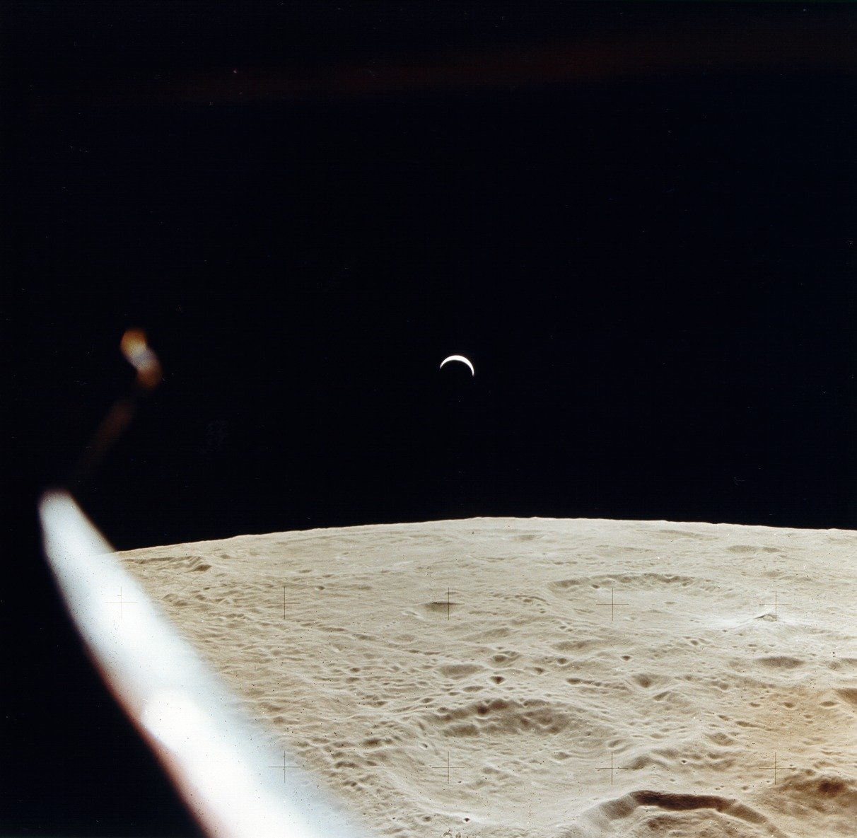 earthrise from moon apollo - photo #28