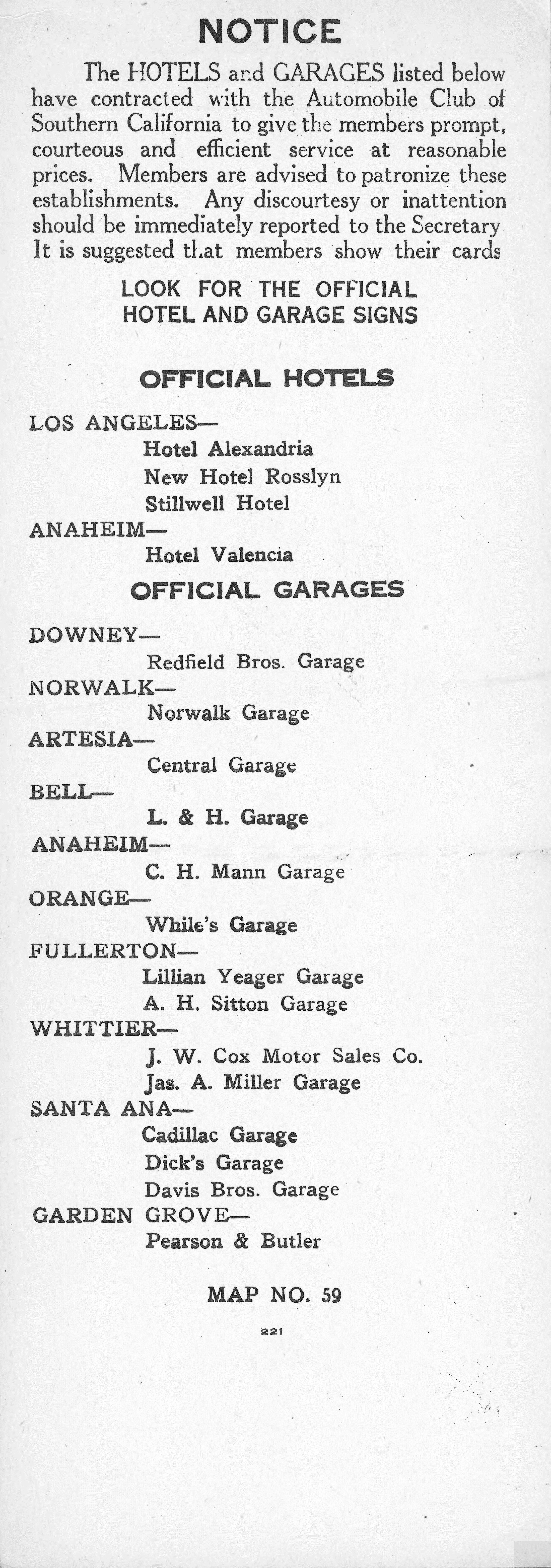 File:Automobile Road Map From Los Angeles To Santa Ana Via Norwalk And  Fullerton,