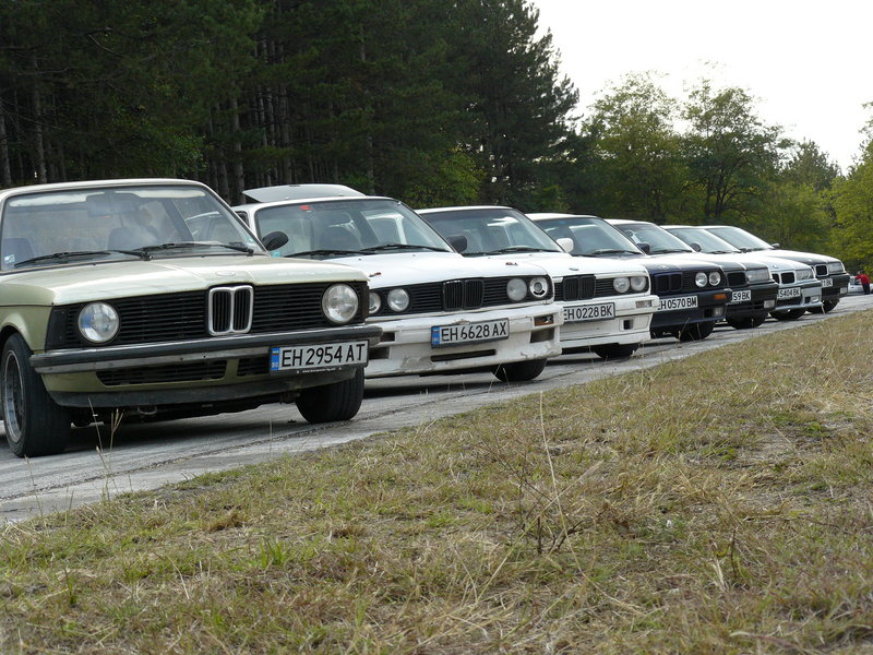 BMW E series parked.jpg