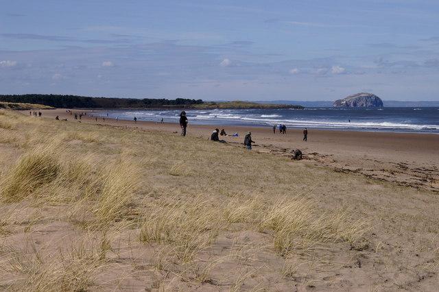 Beach at John Muir Country Park - geograph.org.uk - 1231099