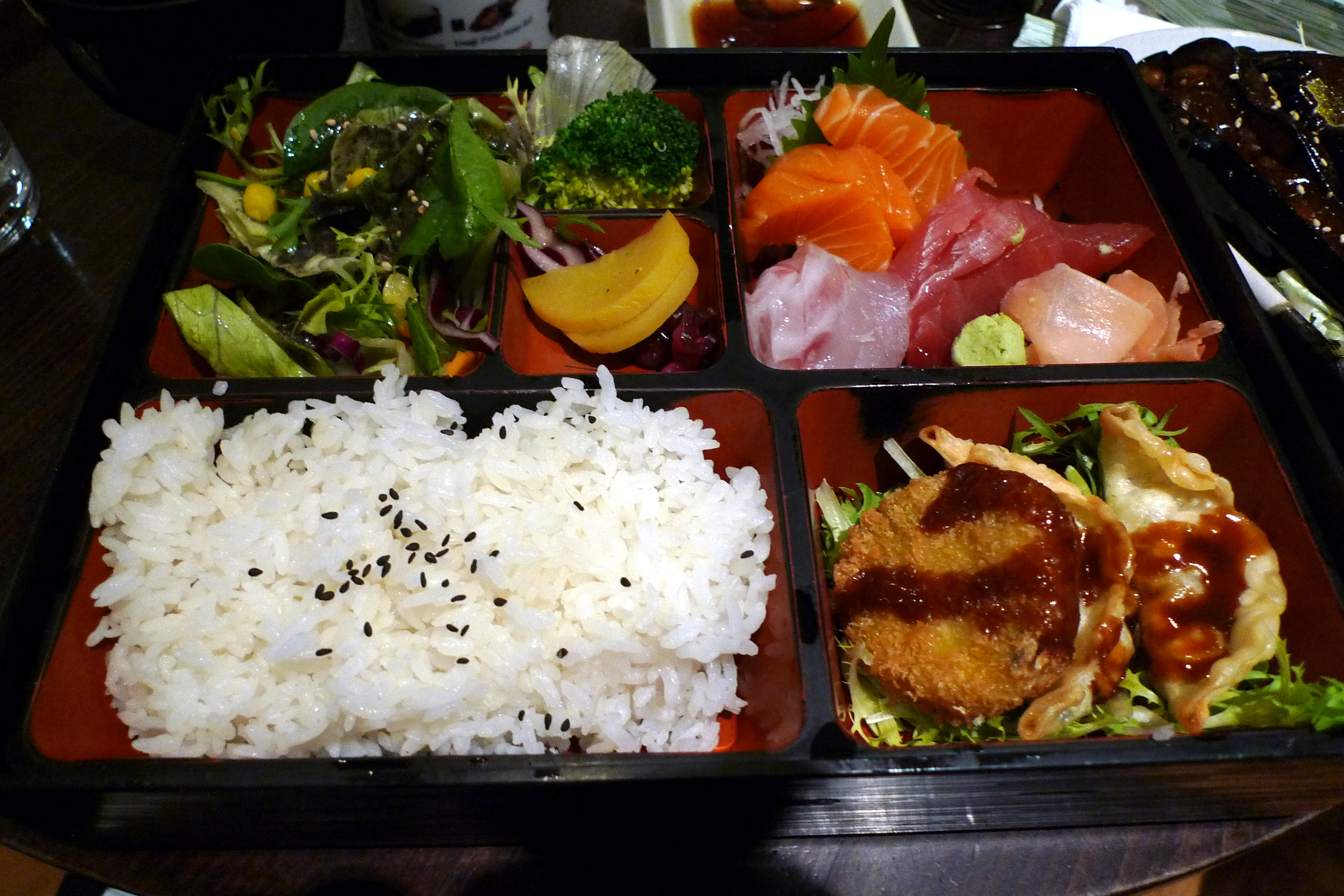 Bento Box Cafe Menu
