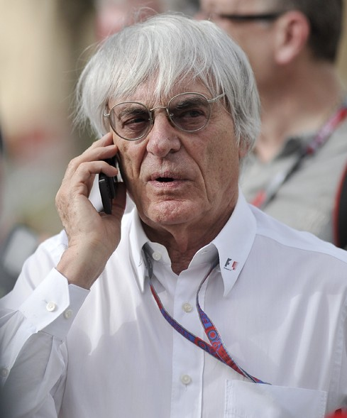 Bernie Ecclestone earned a  million dollar salary, leaving the net worth at 4200 million in 2017