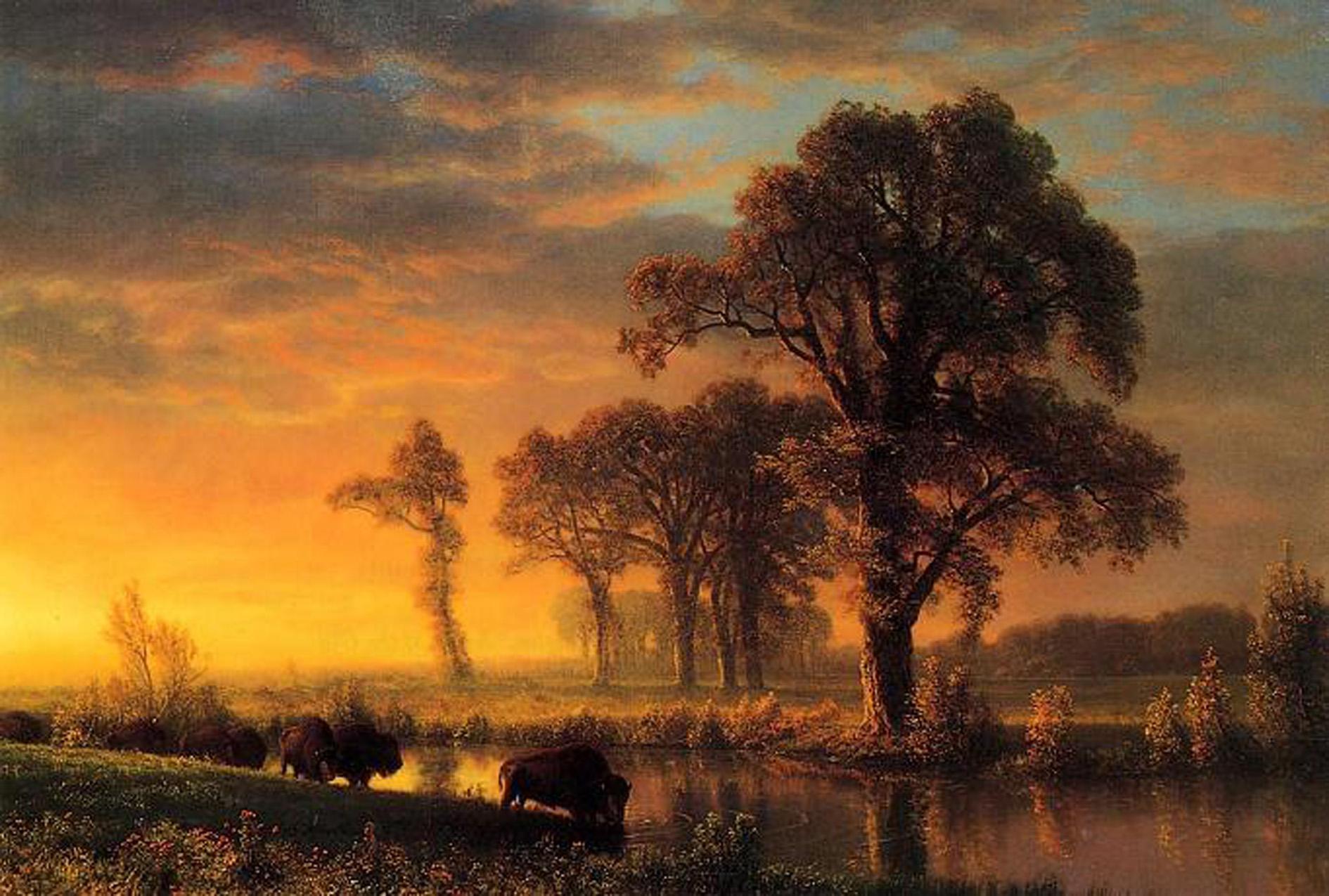 Albert Bierstadt Western Landscape