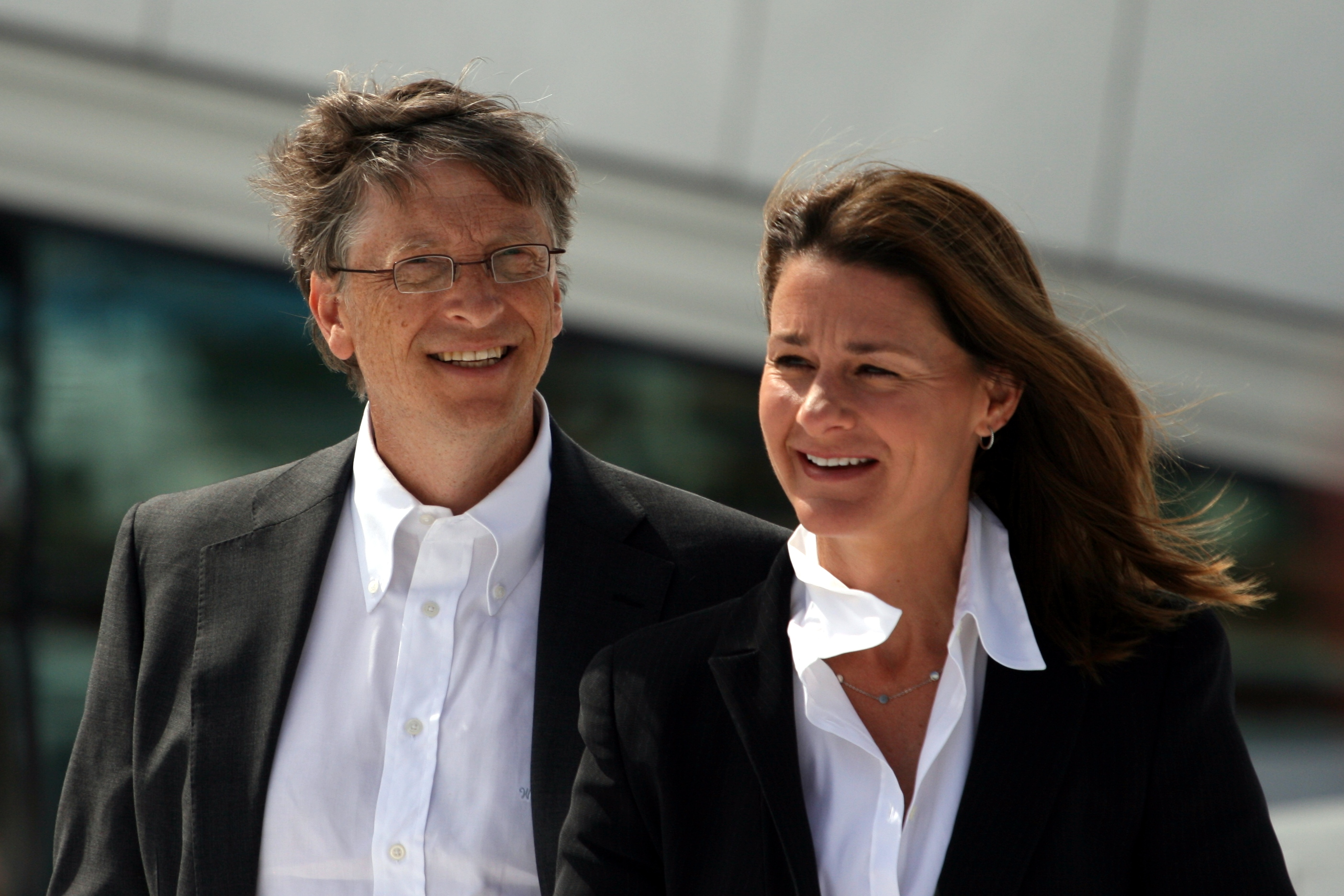 Bill and Melinda Gates in 2009